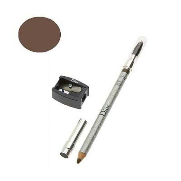 Dior Powder Sand Eyebrow Pencil with Brush and Sharpener