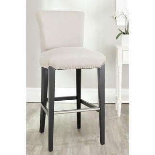 Safavieh Seth Beige Bar Stool