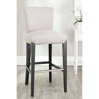 Safavieh 29.3-inch Seth Beige Bar Stool