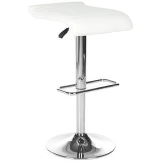 Safavieh 20.8-30-inch Donald White 20.8-30-inch White Adjustable Bar Stool