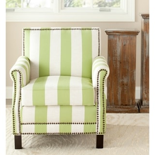 "Safavieh Mansfield Green Club Chair - 28.3"" x 33.1"" x 31.7"""