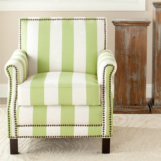 Safavieh Mansfield Green Club Chair