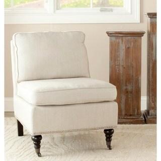 Safavieh Randy Beige Armless Club Chair