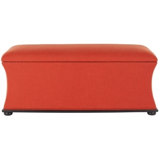 Safavieh Aroura Orange Storage Bench