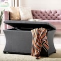 Safavieh Aroura Grey Storage Bench