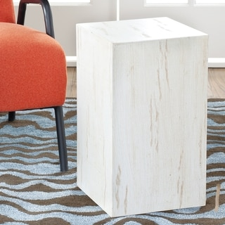 Safavieh Everest White Side Table