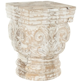 Safavieh Pecos White Stool