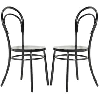 Safavieh Gatria Black Side Chairs (Set of 2)