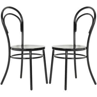 Safavieh Gatria Black Side Chairs (Set of 2)