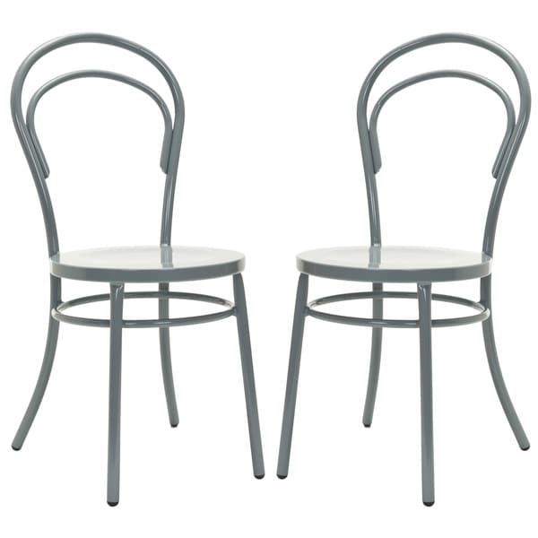Safavieh Gatria Grey Side Chairs (Set of 2)