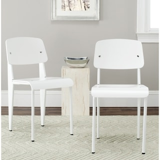 Safavieh Nembus White Side Chair (Set of 2)