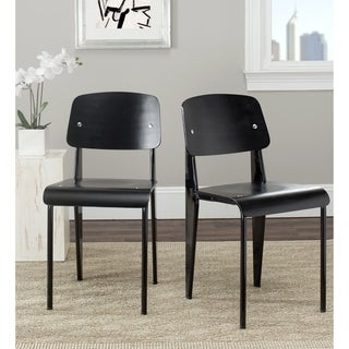 Safavieh Nembus Black Side Chair (Set of 2)