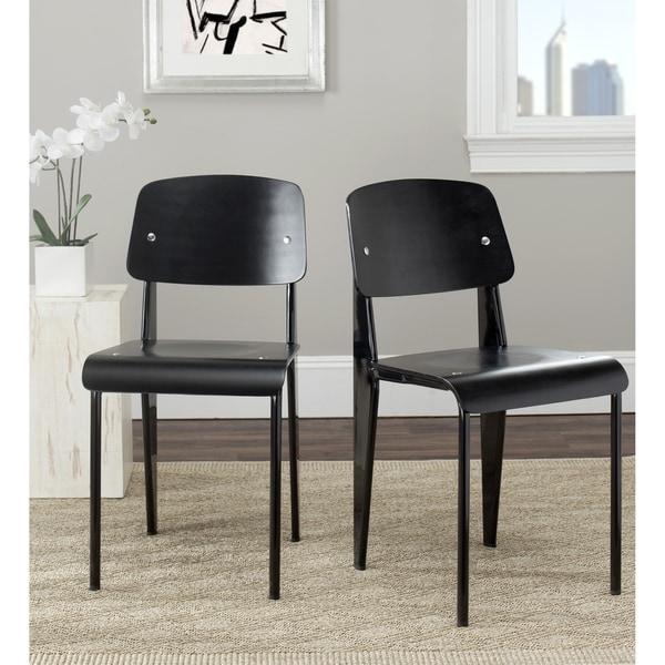 Safavieh Nembus Black Side Chair (Set of 2)
