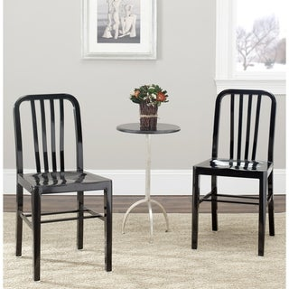 Safavieh Polaris Black Side Chairs (Set of 2)