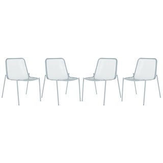 Safavieh Orion Grey Side Chairs (Set of 4)