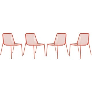 Safavieh Orion Red Side Chairs (Set of 4)