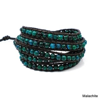 Chic Beauty Precious Stone Five Wrap Bracelet (Thailand)
