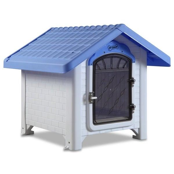 Ultra Lite Plastic 30-pound XS-M Dog House