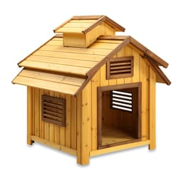 Pet Squeak Bird Dog House (30-50 Pounds)