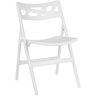 Safavieh Timothy White Indoor/ Outdoor Folding Chair (Set of 4 ...