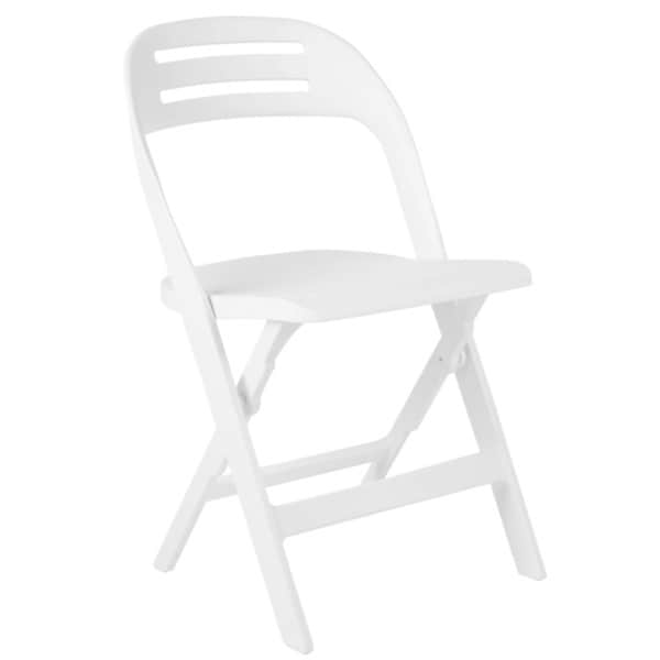 Safavieh Danielle White Indoor/ Outdoor Folding Chairs (Set of 4)