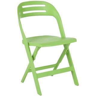 Safavieh Danielle Green Indoor/ Outdoor Folding Chairs (Set of 4)