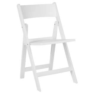 Safavieh Renee White Indoor/ Outdoor Folding Chairs (Set of 4 ...