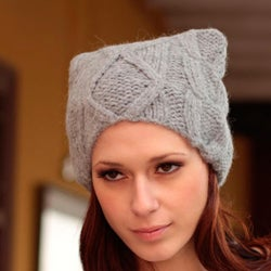 Alpaca 'Winter Mist' Hat (Peru)