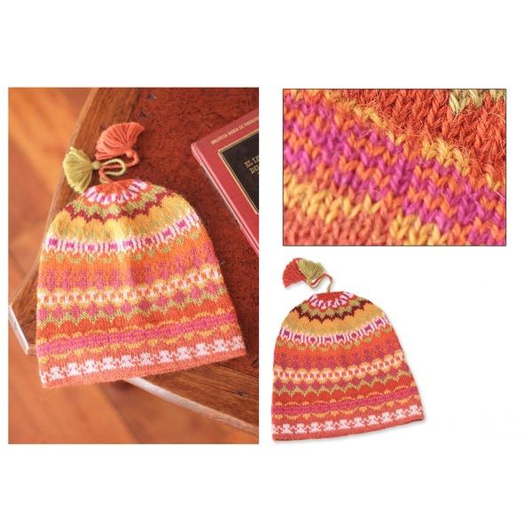 Alpaca 'Sunny Winter' Hat (Peru) 10050109
