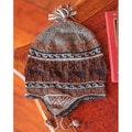 Alpaca Blend 'Deer Shadow' Chullo Hat (Peru)