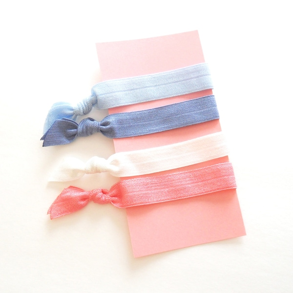 Boutique 4-Piece Ponytail Hair Ties