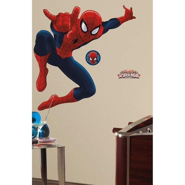 Roommates Ultimate Spider-Man Peel-and-Stick Giant Wall Decal 10050169