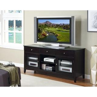 Dark Espresso Veneer 'Connect-It' 60-inch TV Console
