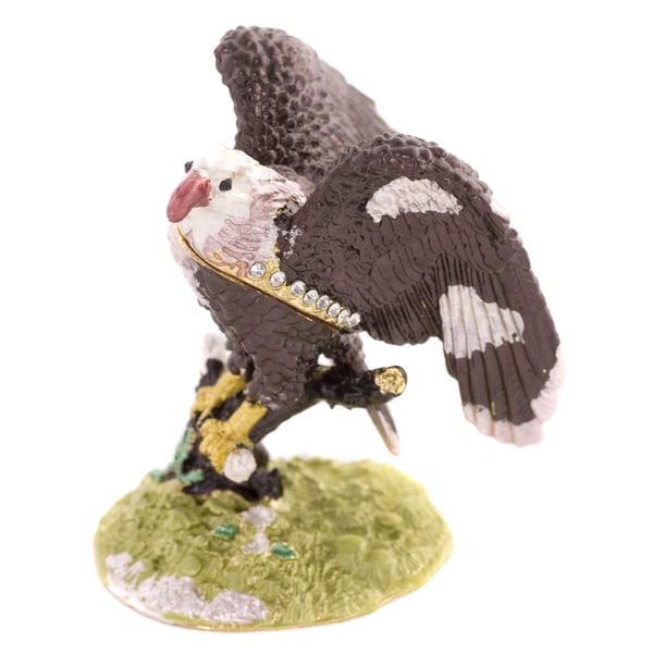 Objet d'art 'Majesty' Bald Eagle Trinket Box
