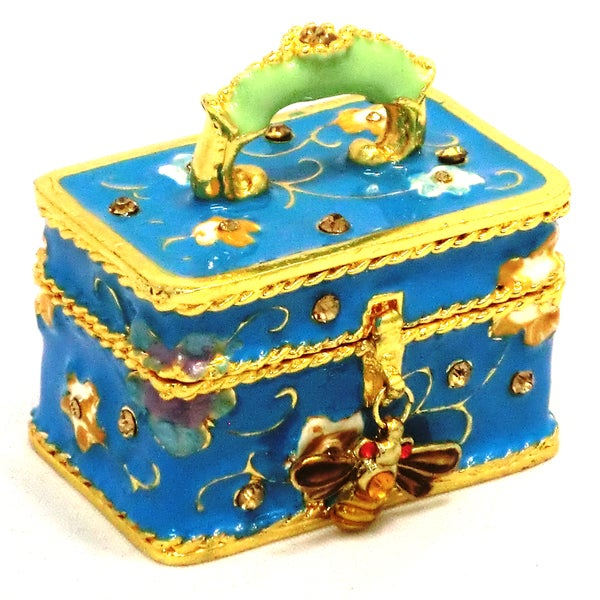 Objet d'art 'D'Elegance' Travel Case Trinket Box