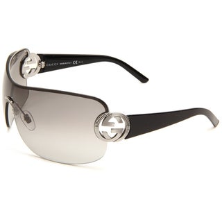 Gucci Women's 'GG 2890 BGY' Women's Ruthenium Black Fashion Sunglasses