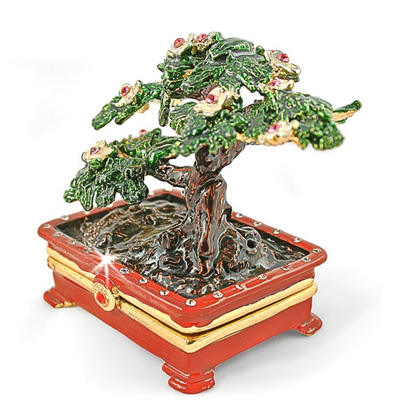 Objet d'art 'Bonsai' Trinket Box