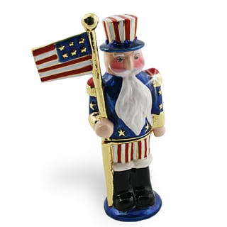 Objet d'art 'The Firecracker' US Nutcracker Trinket Box