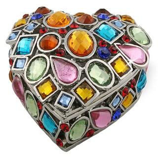 Objet d'art 'Coeur de Bijoux' Heart Box Trinket Box