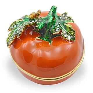Objet d'art 'You Say Tomato' Trinket Box