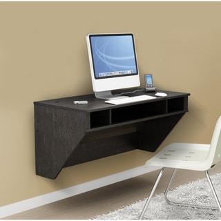 Prepac SOHO Washed Ebony Floating Desk