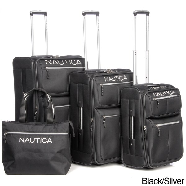 Nautica 'Maritime II' 4-piece Luggage Set