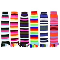 Julietta Women's Knee-high Toe Socks