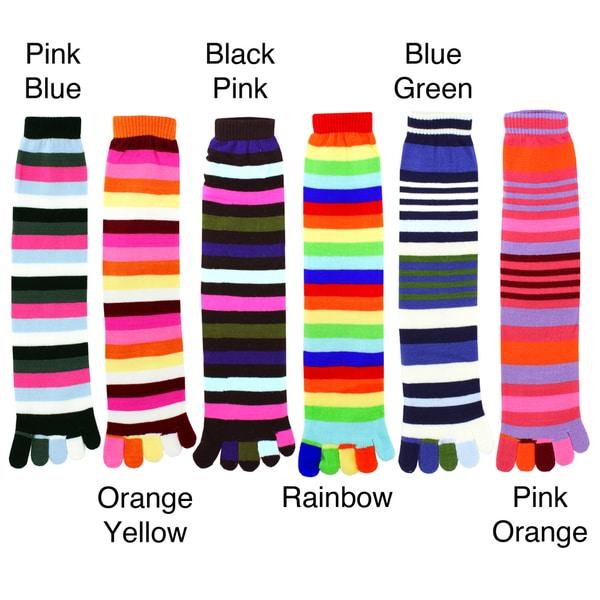 Julietta Women's Knee-high Toe Socks