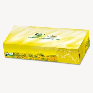 Marcal PRO 100-percent Premium Recycled Facial Tissue