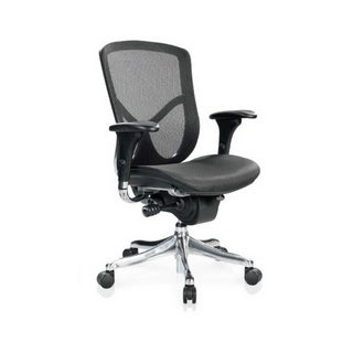 Eurotech Fuzion Mesh Ergonomic Chair with Aluminum Frame