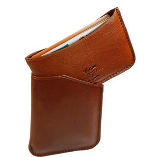 Torino Leather Business Card Holder Overstock™ Shopping