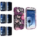 BasAcc Case/ Privacy Screen Protector for Samsung Galaxy S III/ S3