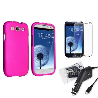 BasAcc Case/ Screen Protector/ Charger for Samsung� Galaxy S III/ S3