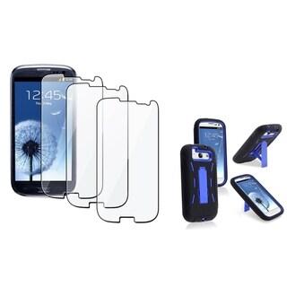 BasAcc Hybrid Case/ Screen Protector for Samsung Galaxy S III/ S3